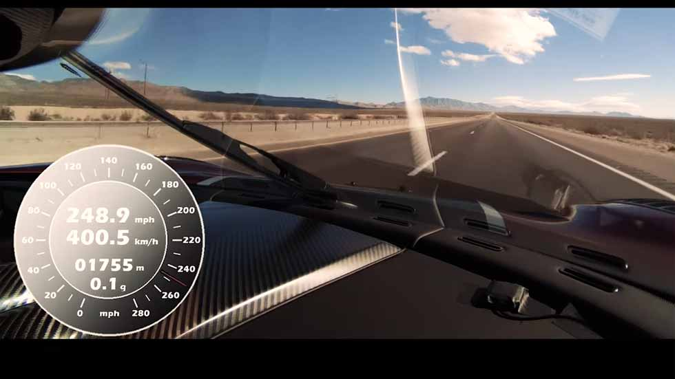 El Koenigsegg Agera RS pulveriza el récord de velocidad y el de 0-400-0 km/h (VÍDEOS)