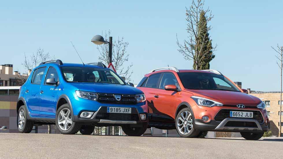 Dacia Sandero Stepway vs Hyundai i20 Active: ¿cuál es el más recomendable?