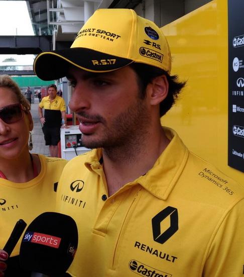 GP de Brasil: Sainz, optimista de cara al futuro