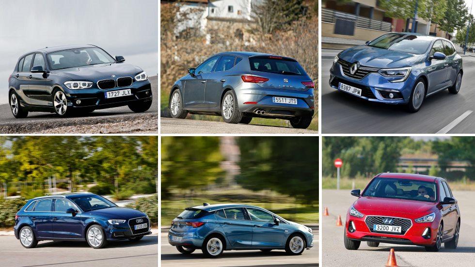 ¿El mejor compacto Diesel? Todos contra todos: A3, Focus, León, Mégane, Golf…