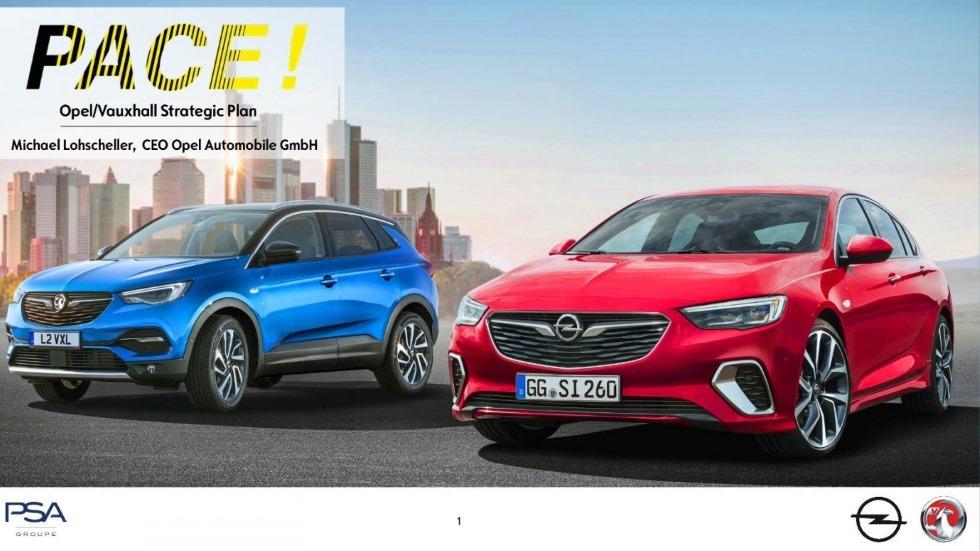 El futuro de Opel: 9 coches nuevos hasta 2020 y sólo plataformas de PSA