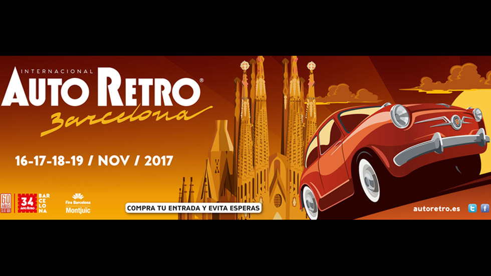 Visita el Salón del Vehículo Clásico de Barcelona, con AUTOPISTA