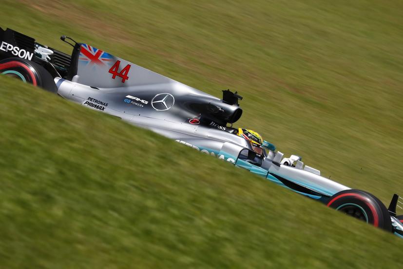 GP de Brasil: dominio total de los Mercedes