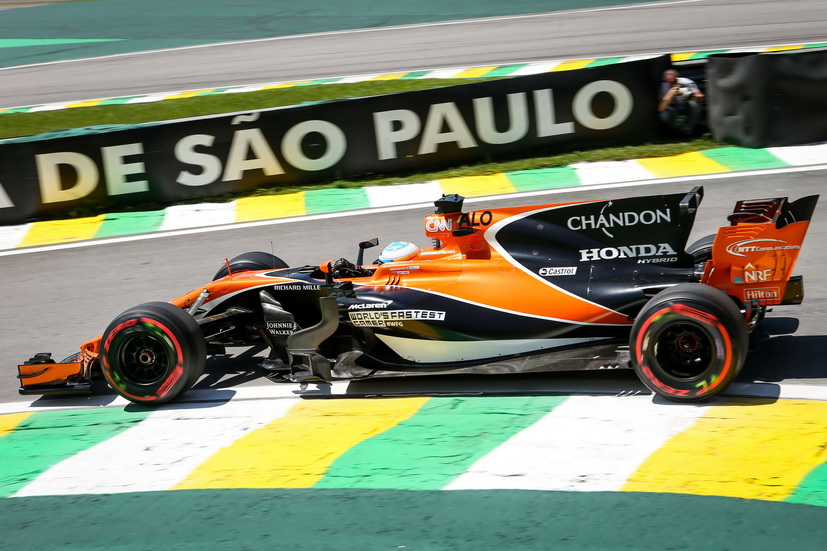 GP de Brasil: Fernando Alonso en el top ten