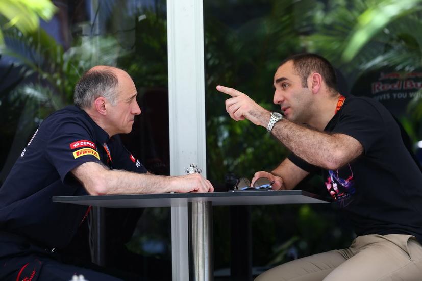 GP de Brasil: alta tensión entre Renault y Toro Rosso