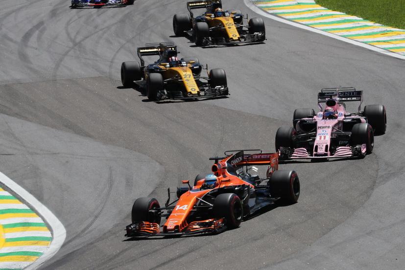 """GP de Brasil: """"Es una pena que tengamos ese déficit de potencia tan increíble"""", dijo Alonso"""