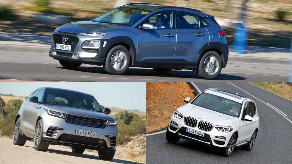 Revista Autopista 3030: Hyundai Kona, BMW X3 y Range Rover Velar, a fondo