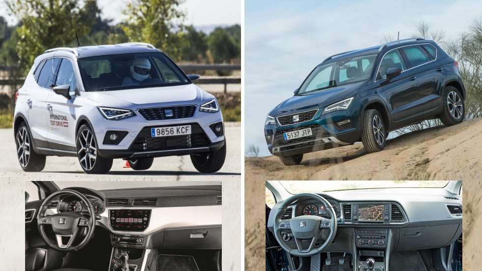 Seat Arona vs Ateca 1.0 TSI: ¿qué interesa, SUV utilitario o compacto?