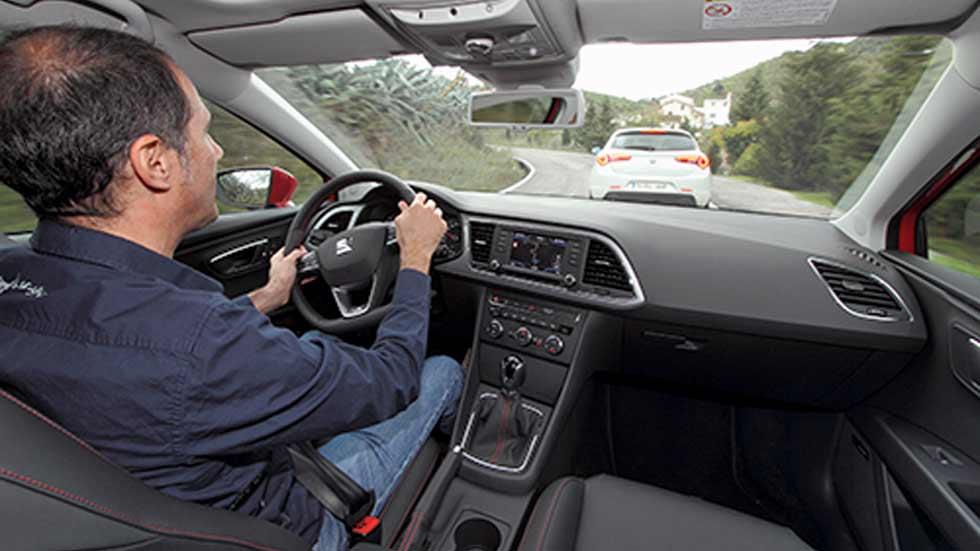 Conduce seguro: cómo mantener la distancia de seguridad