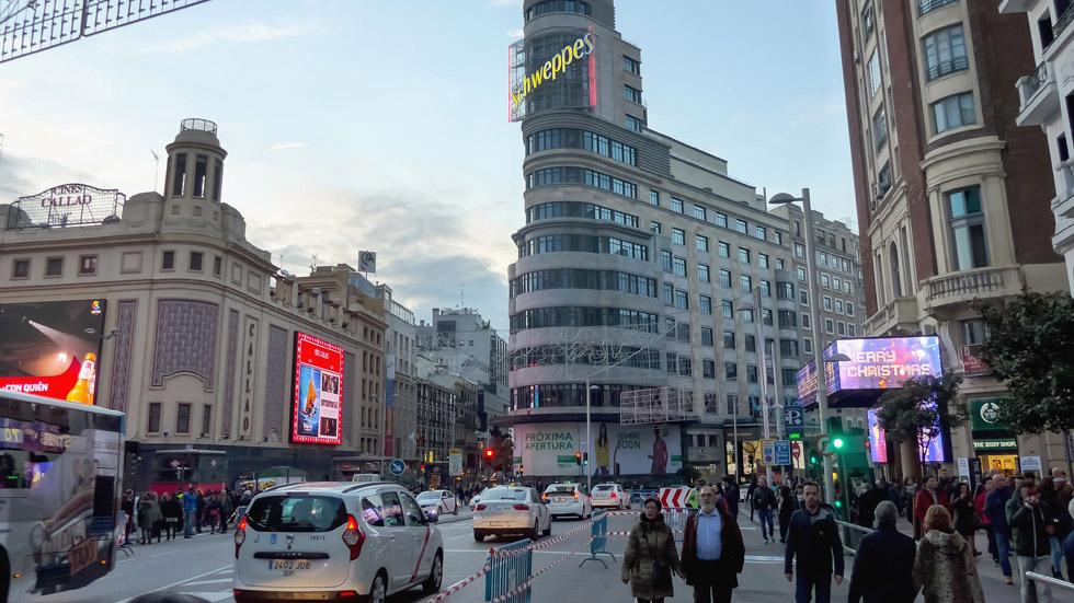 Navidades: así serán las restricciones de tráfico en Madrid