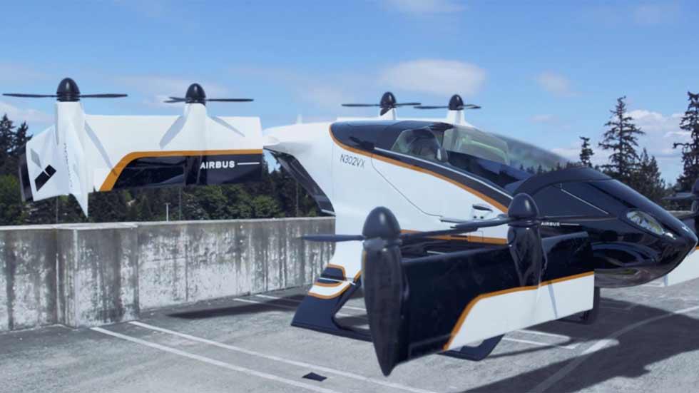 ¡Ya está aquí! Airbus probará su coche volador antes de que acabe el año