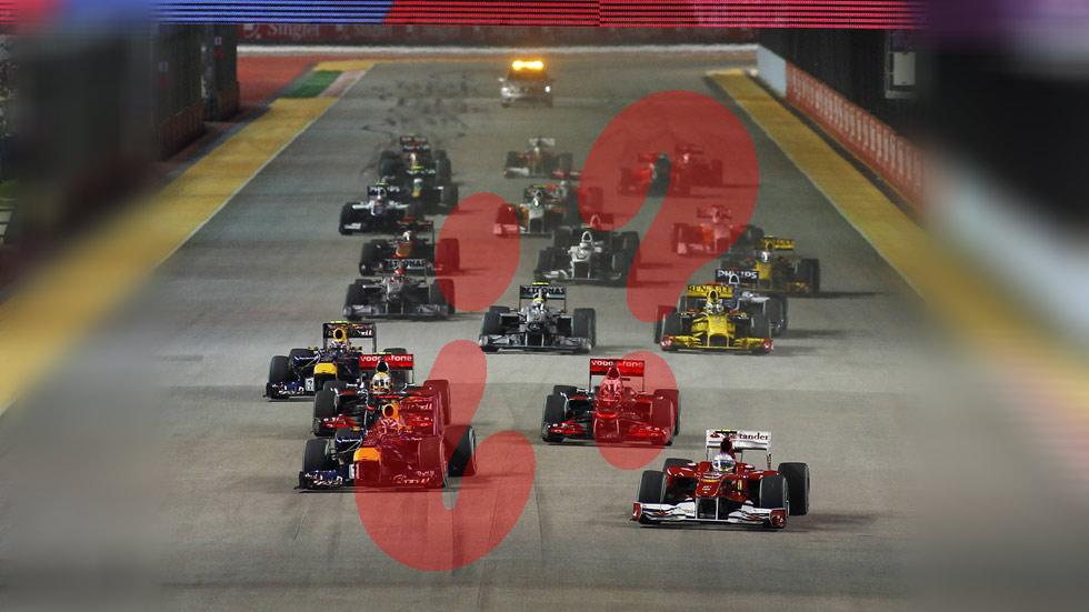 ¿Cuánto sabes de Fórmula 1? ¡Demuéstralo en este test!