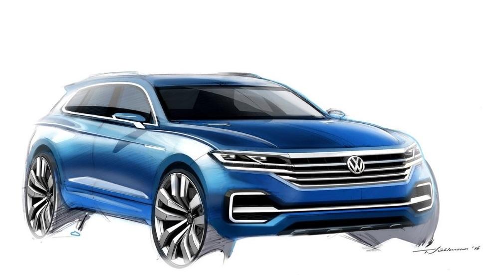 volkswagen confirma otro suv basado en el golf antes de 2020. Black Bedroom Furniture Sets. Home Design Ideas