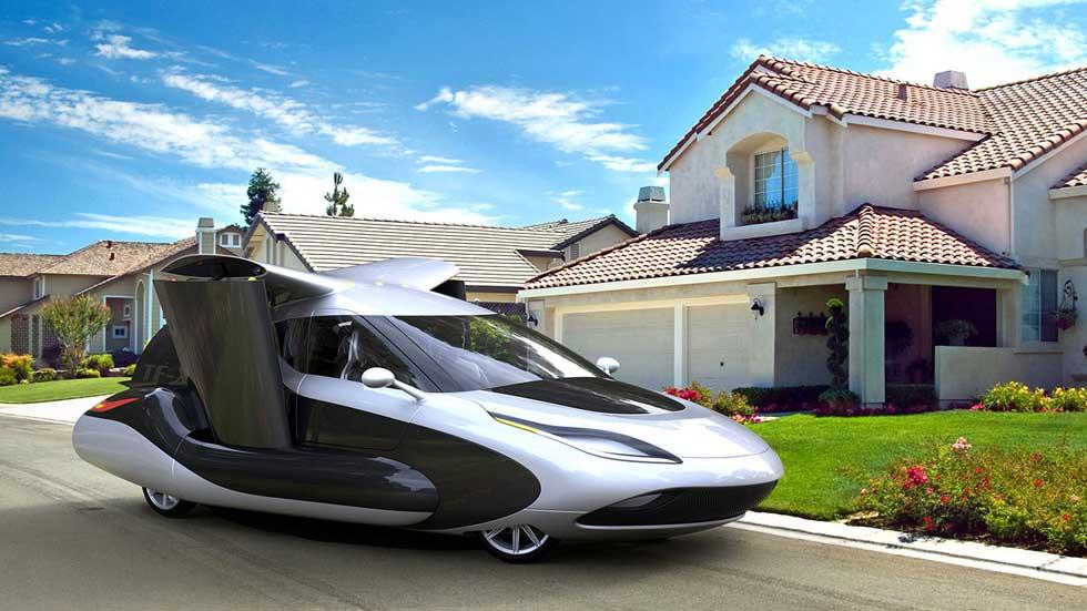 Geely y Volvo tendrán su coche volador con Terrafugia en 2019