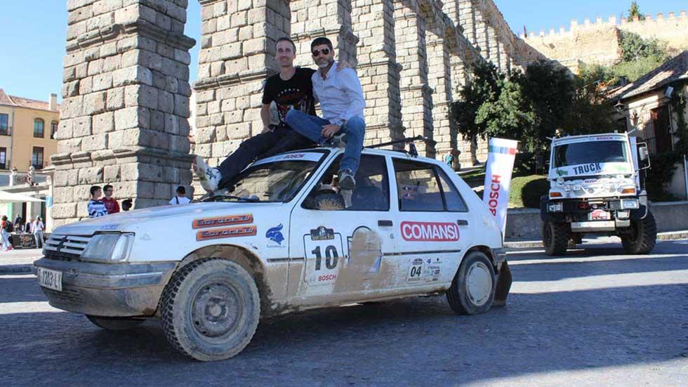 Los clásicos Peugeot 205 y Peugeot 309, de ruta por España