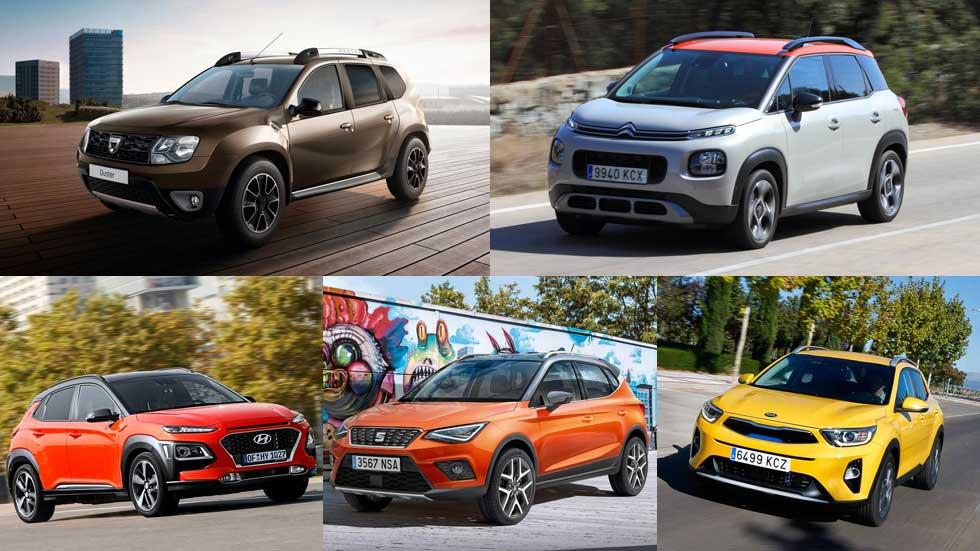 Los 5 SUV más interesantes entre 10.000 y 15.000 euros