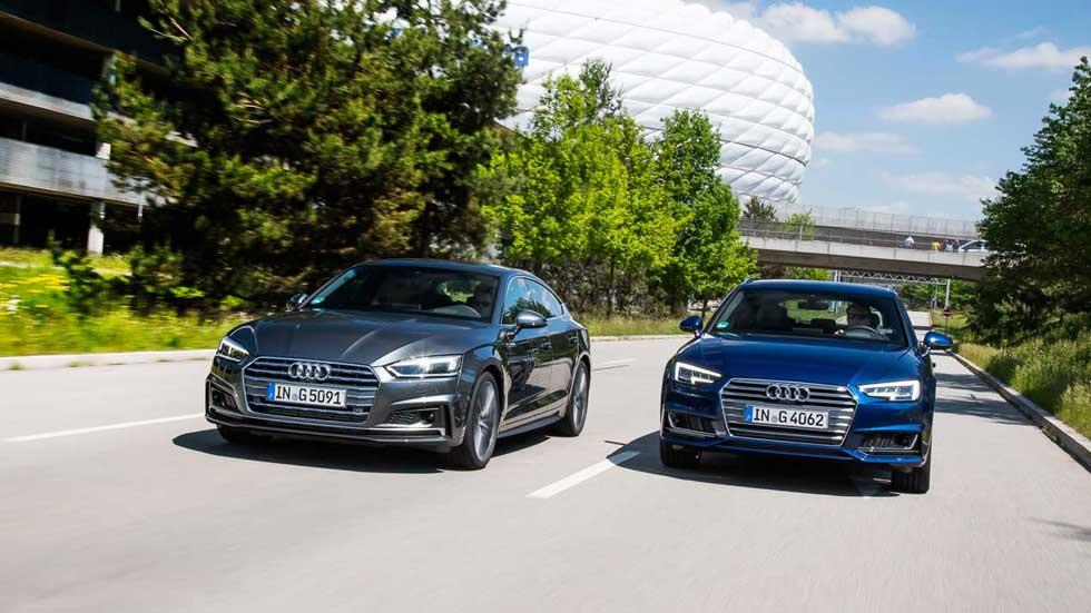 Nuevos Audi A4 y A5 de gas natural: precios para España