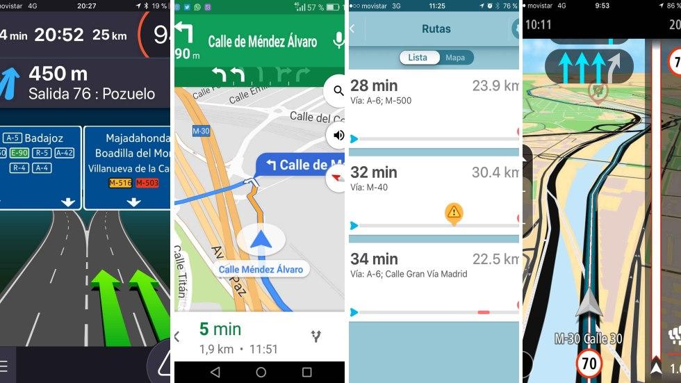 Las mejores apps para evitar atascos: las probamos y comparamos