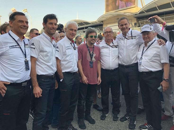 Fernando Alonso está en Baréin