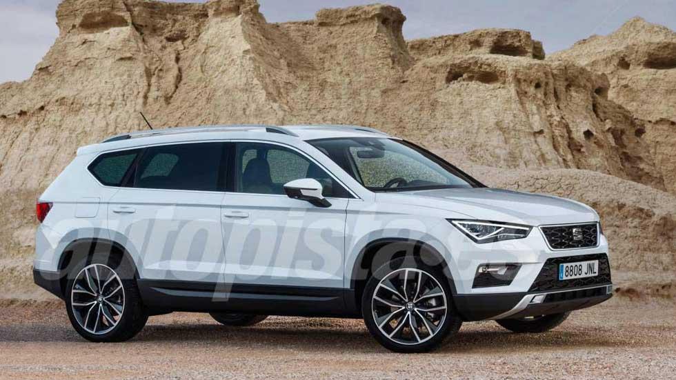 Seat SUV de 7 plazas: el súper Ateca, a la venta a finales de 2018