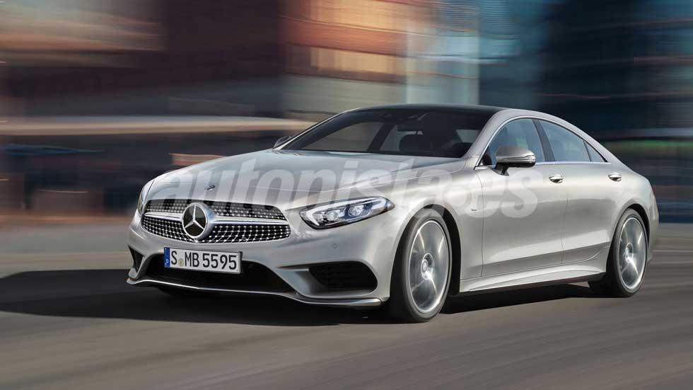 Mercedes CLS 2018: primeras fotos y datos de la ...