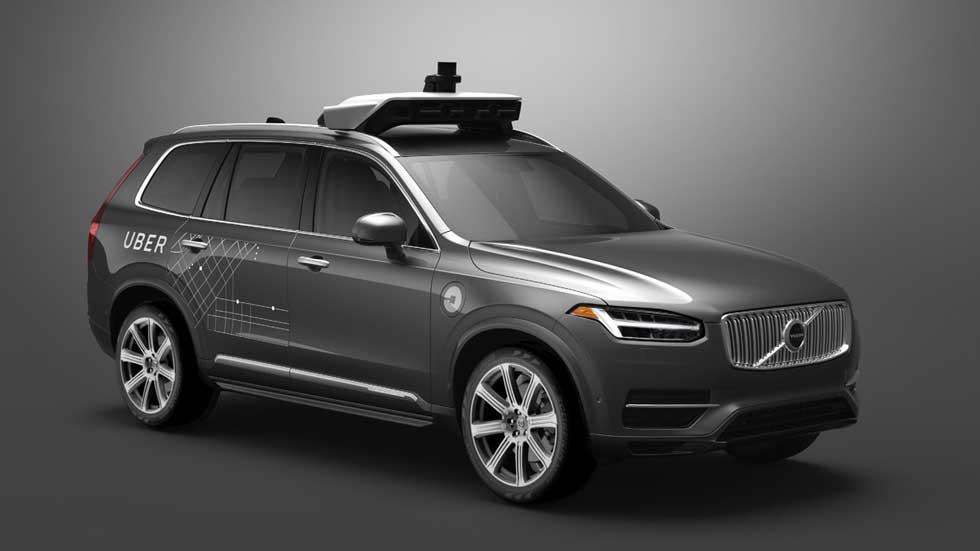 Revolución en movilidad: Uber comprará 24.000 coches autónomos de Volvo