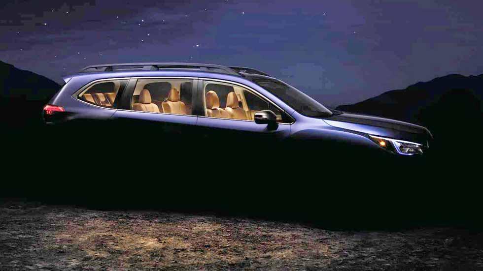 Subaru Ascent: el nuevo SUV de 7 plazas, en 2019