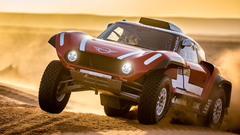 ¡Brutal! Así es el Mini JCW Buggy del Dakar 2018