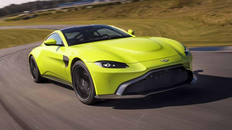 Aston Martin Vantage 2018, cambio de rumbo