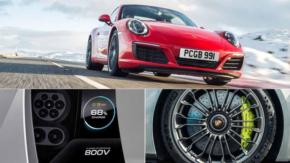 ¿Un Porsche 911 eléctrico? No… al menos en 10 años