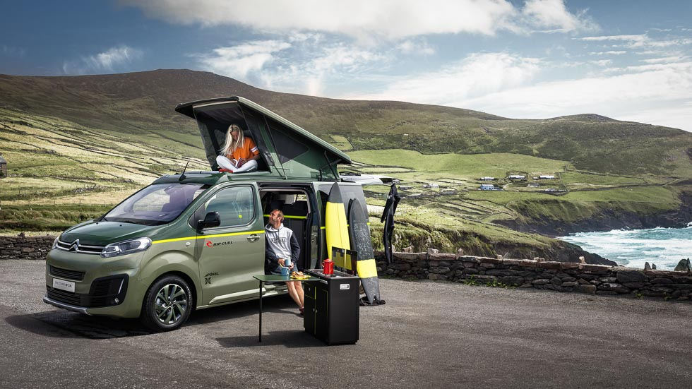 Citroën SpaceTourer Rip Curl Concept: en la cresta de la ola