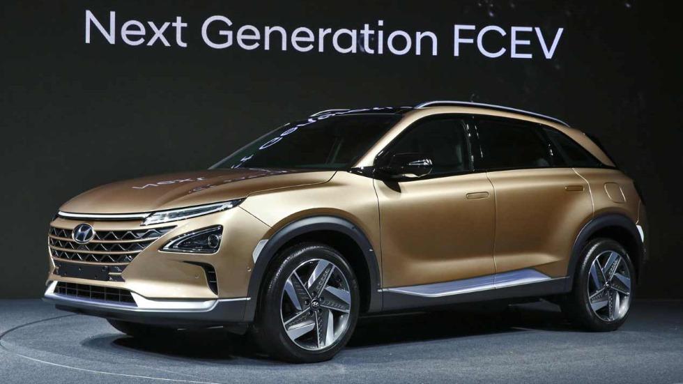 Hyundai FCEV: el nuevo SUV de hidrógeno se presenta en enero