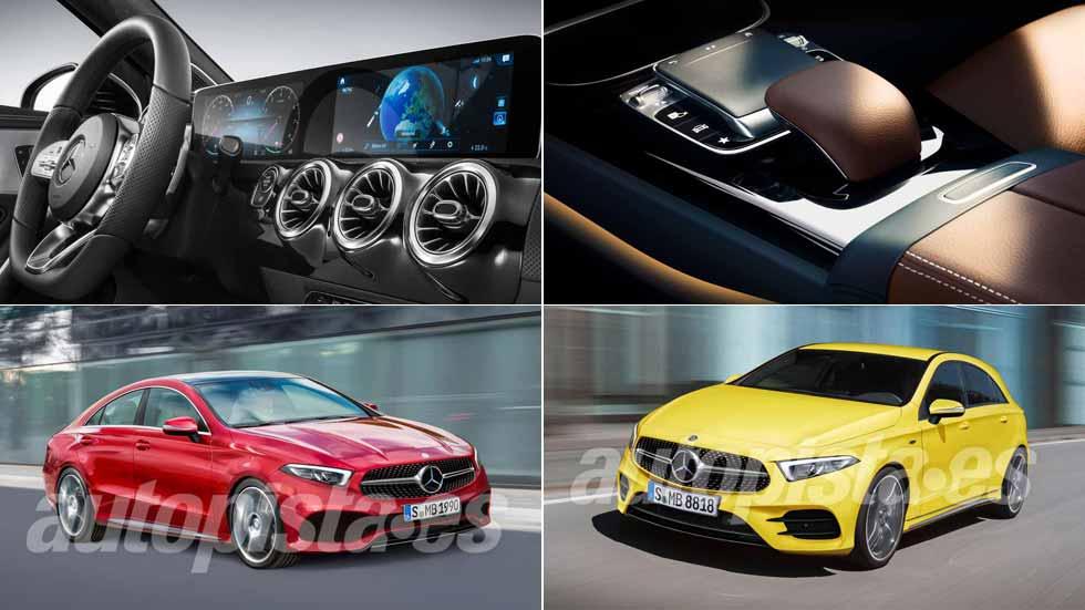 Mercedes Clase A 2018: primeros datos y fotos de su interior