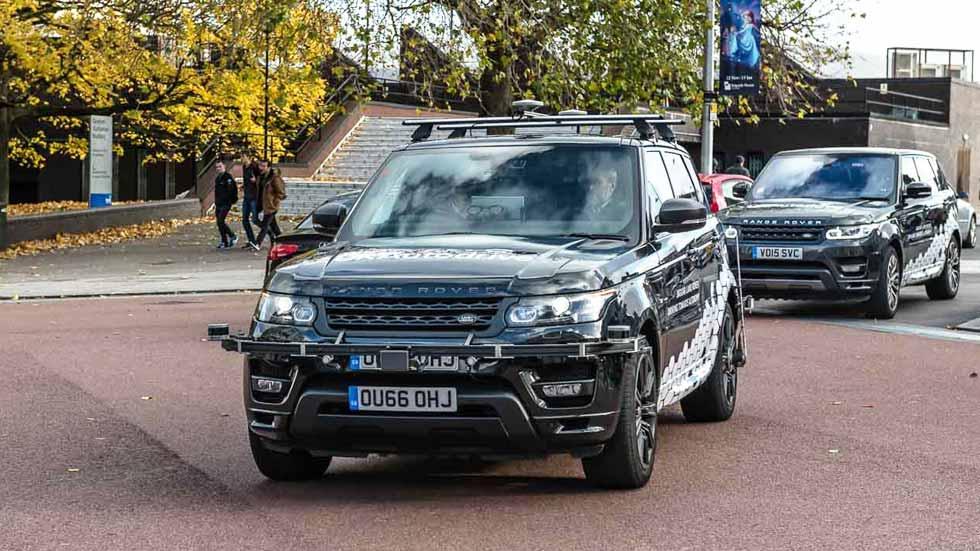 Los primeros coches autónomos de Jaguar y Land Rover ya ruedan