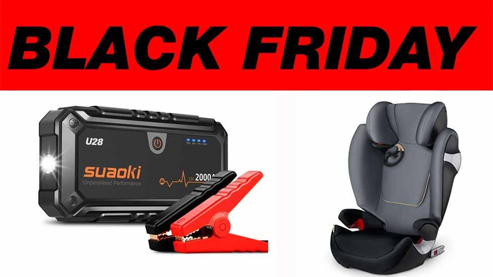 Las mejores ofertas del Black Friday: sillas infantiles y arrancadores de coche