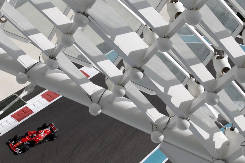 GP de Abu Dabi: Vettel marca el mejor tiempo en la FP1