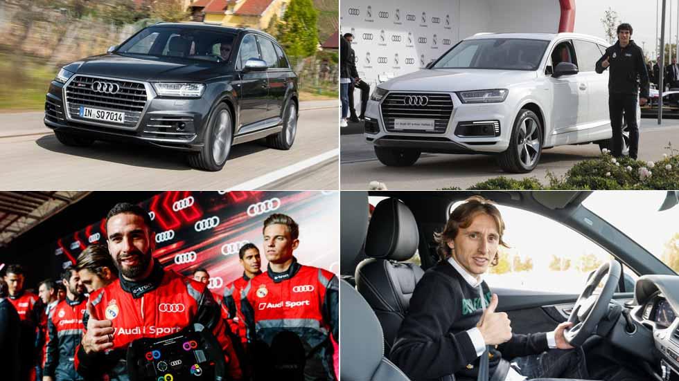 El SUV Audi Q7, el coche preferido de los jugadores del Real Madrid