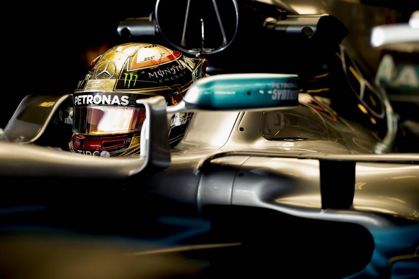 GP de Abu Dabi: Hamilton bate el récord de la pista