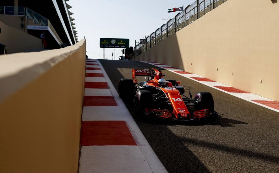 GP de Abu Dabi: Fernando Alonso entre los diez primeros