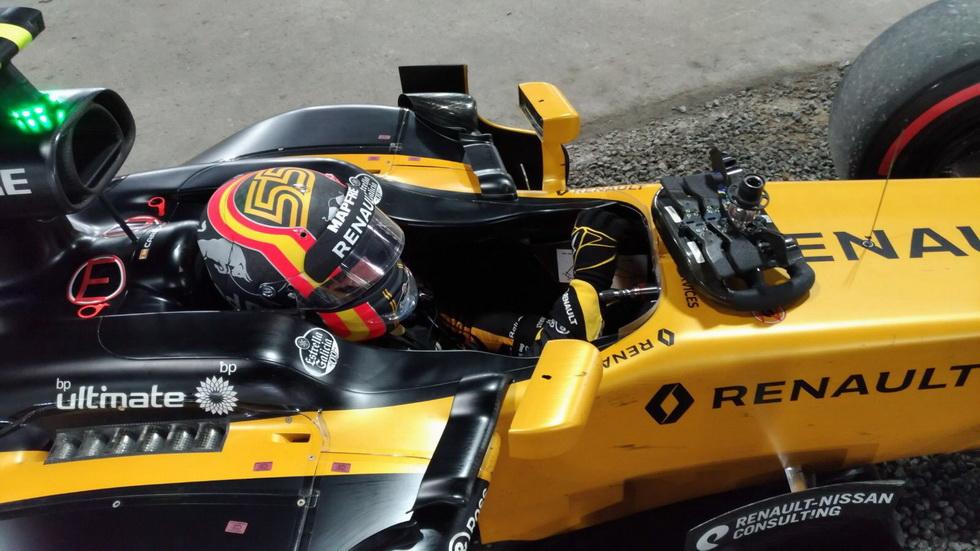 GP de Abu Dabi: abandono de Carlos Sainz