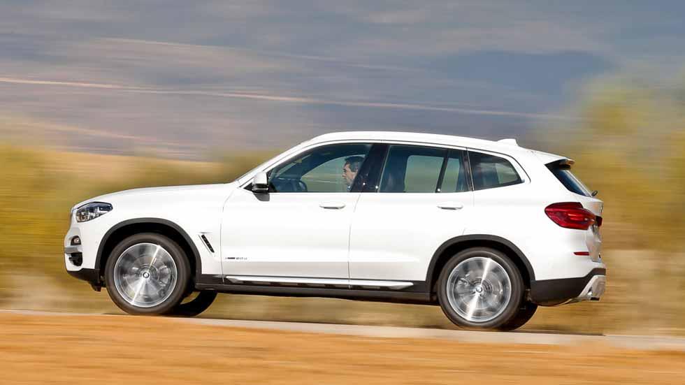 BMW X3: superprueba del nuevo SUV en su versión Diesel de 190 CV