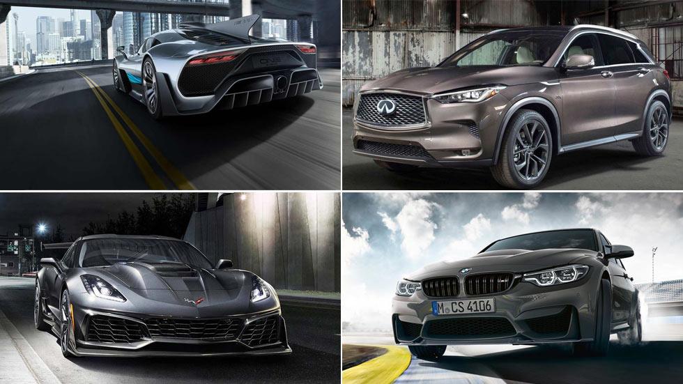 Los mejores coches y SUV del Salón de Los Ángeles 2017
