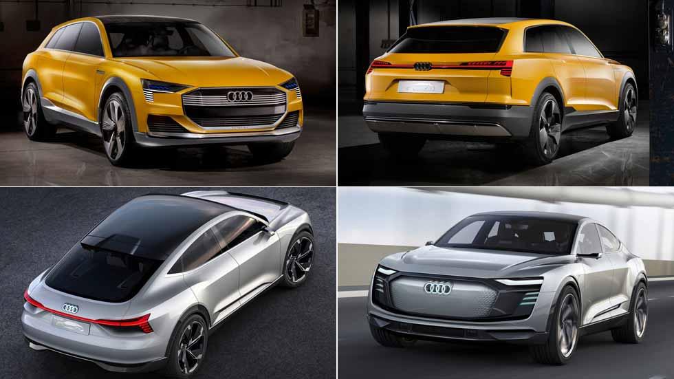 Audi tendrá dos nuevos SUV cien por cien eléctricos en 2021