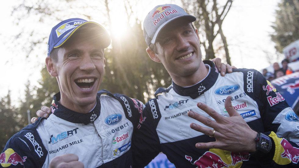 Sébástien Ogier seguirá con M-Sport Ford en el Mundial de Rallyes