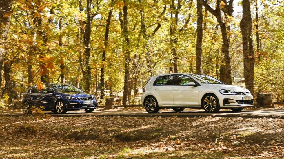 Peugeot 308 2.0 BlueHDi EAT8 vs VW Golf 2.0 TDI GTD DSG: ¿cuál es mejor?