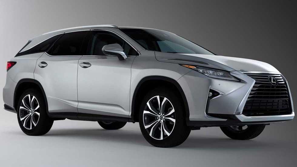 Lexus RX L: un nuevo gran SUV de 7 plazas