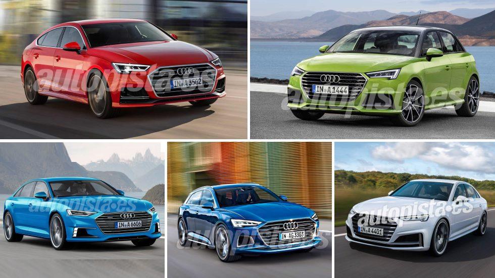 Los nuevos coches de Audi en 2018 y 2019: A1, A3, A4, A6…