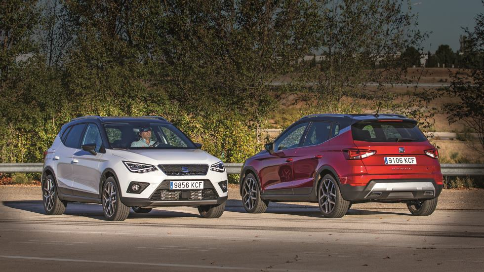 Seat Arona 1.0 TSI vs 1.6 TDI: el nuevo SUV, ¿mejor Diesel o gasolina?