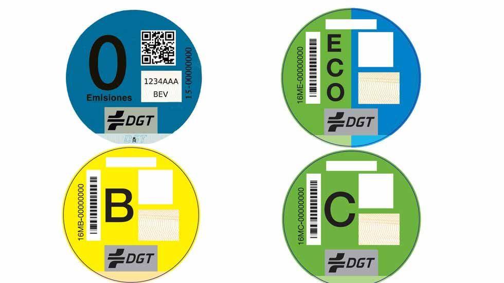 ¿Qué etiqueta de la DGT tiene tu coche? Consúltalo y cómprala aquí…