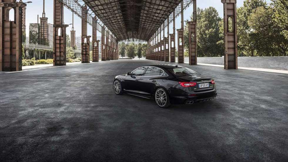 Maserati Levante, Ghibli y Quattroporte Nerissimo: aún más elegantes